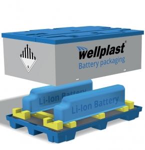 Wellplast®- smart batteriförvaring vid transport