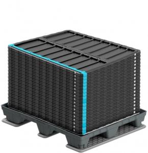 Wellplast®- lock till stora lådor i kanalplast